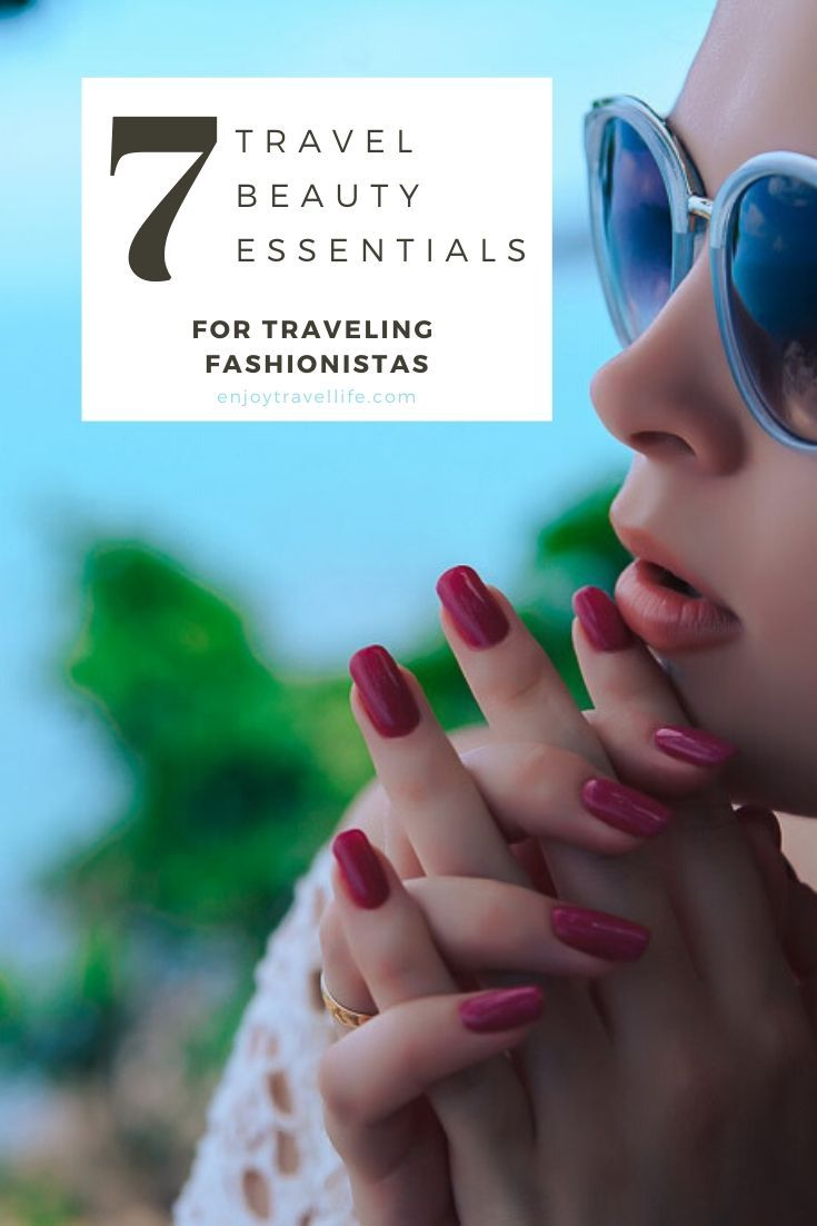 On-The-Go Beauty Tips For Traveling Fashionistas  Travel beauty