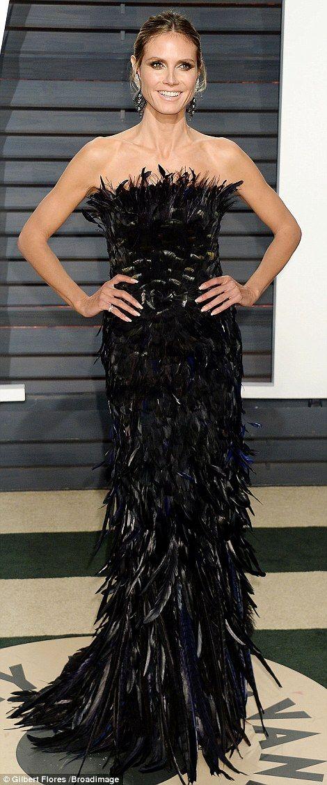 Toni Garrn joins Petra Nemcova and Adriana Lima at Vanity Fair party #dailymail