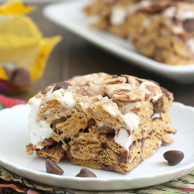 Golden Graham S'mores Squares by Tracey's Culinary Adventures, via Flickr