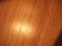 How to remove scratches from bamboo flooring - DIY, low cost.