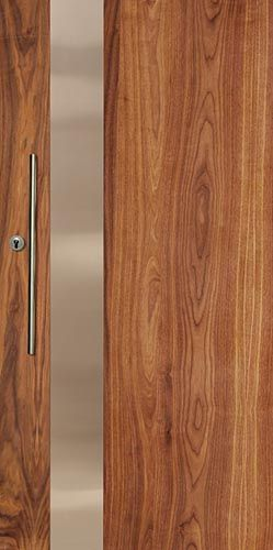 FUSMW101 - Fusion Metal Entrance Door in Walnut; also comes in jarrah and myrtle  & The 13 best doors images on Pinterest | Entrance doors Entrance ...