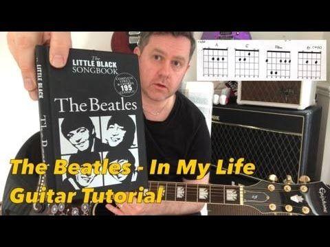 The Beatles - In My Life - Guitar Tutorial (Chord Boxes Guitar Tab)