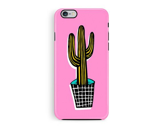 iPhone 6s tough case iPhone 6 case cactus by TheSmallPrintCases