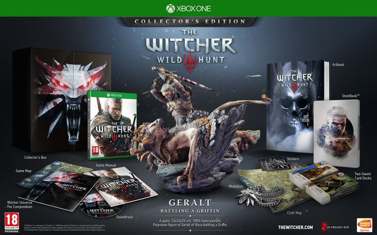 Awesome New Goodies Added To The Xbox One Collector's Edition of The Witcher 3: Wild Hunt
