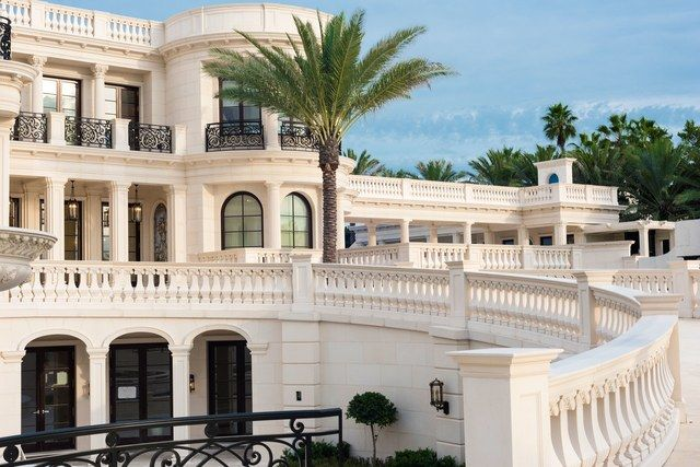 Stats19 Bedrooms20.5 Baths60,500 sq. ft.$159 million    Imagine owning Le Palais Royal: a 60,500-square-foot Florida mansion that was modeled after France's Palace of Versailles. Your home would feature 19 bedrooms—including a master suite with a heated plunge pool on the balcony—an 18-seat IMAX home theater, a 30-car subterranean garage, a wine cellar with a 3,000-bottle capacity, a 1,300-gallon built-in aquarium, more than $3 million in gold leaf casing, six waterfalls on the…