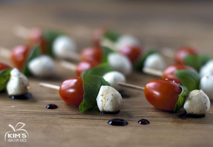 Tomato Mozzarella Skewers