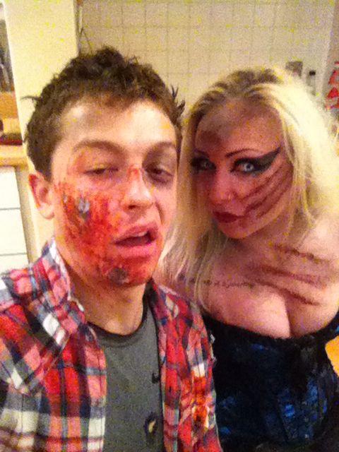 Halloween 2015 me and jo
