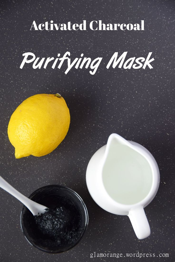 Read the best recipe of DIY Activated Charcoal Purifying Mask for glowing skin in my latest post at glamorange.wordpress.com