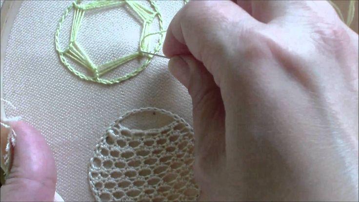Puncte și cusături ornamentale - Mijloc de steluță