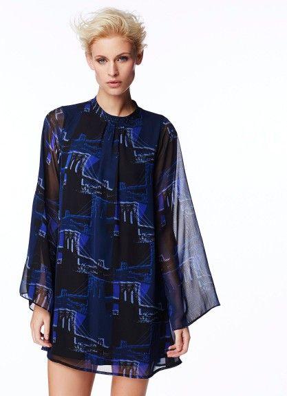 SHELLY   vestido estampado da coleção Andy Warhol   Pepe Jeans   2014/2015 ADORO!!!!!