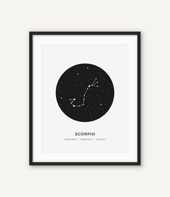 ◆ BESCHRIJVING Een prachtige moderne constellatie van de Schorpioen wall art. Deze zwart-wit minimalist print kan zal zitten perfect op de muur van uw modern uitziende huis of een geweldig cadeau voor een persoon met dit sterrenbeeld. ◆ INSTANT DOWNLOAD Let op, dit is een digitaal product, bespaart u levertijd en verzendkosten. Geen fysiek product zal worden verscheept. Hieronder vallen niet de met de frame en achtergrond. ◆ BESTANDEN & MATEN Alle bestanden zijn hoge resolutie (300 dpi)...