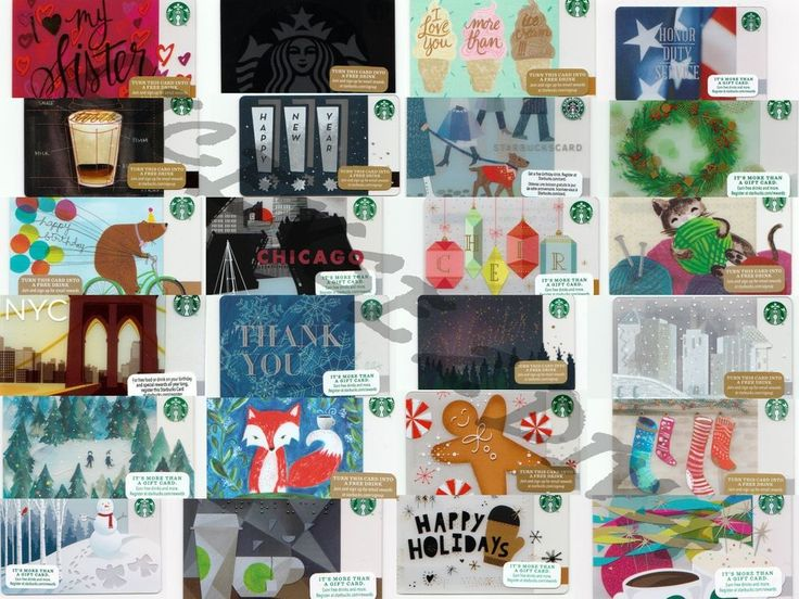 112 best store gift cards images on pinterest gift cards gift starbucks gift cards brand new some retired different styles off the shelf negle Gallery