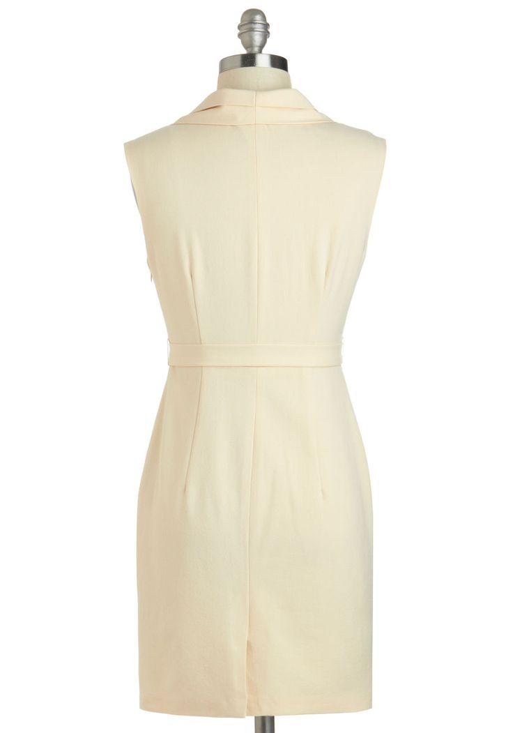 Jetsetter Journalist Dress   Mod Retro Vintage Dresses   ModCloth.com