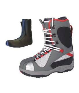 Snowboardové topánky WORKER Red Ray