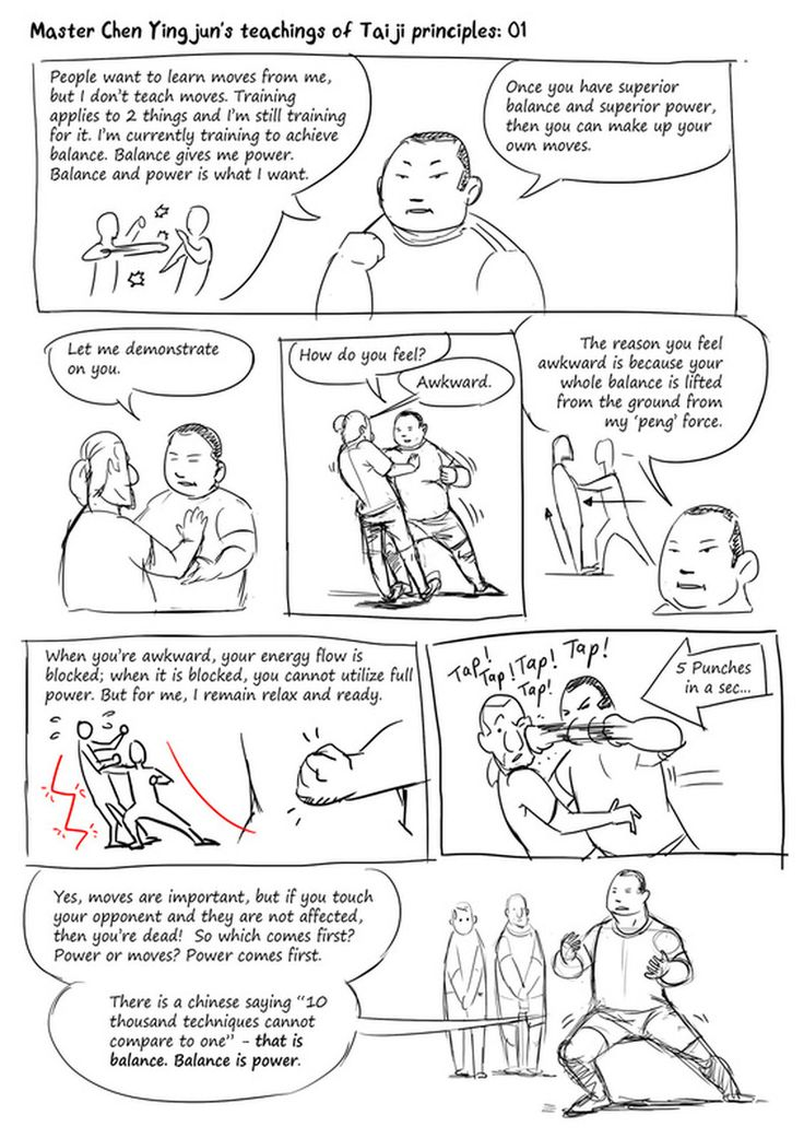 Les enseignements de Me Chen Ying jr : Principes du TaiChi 01