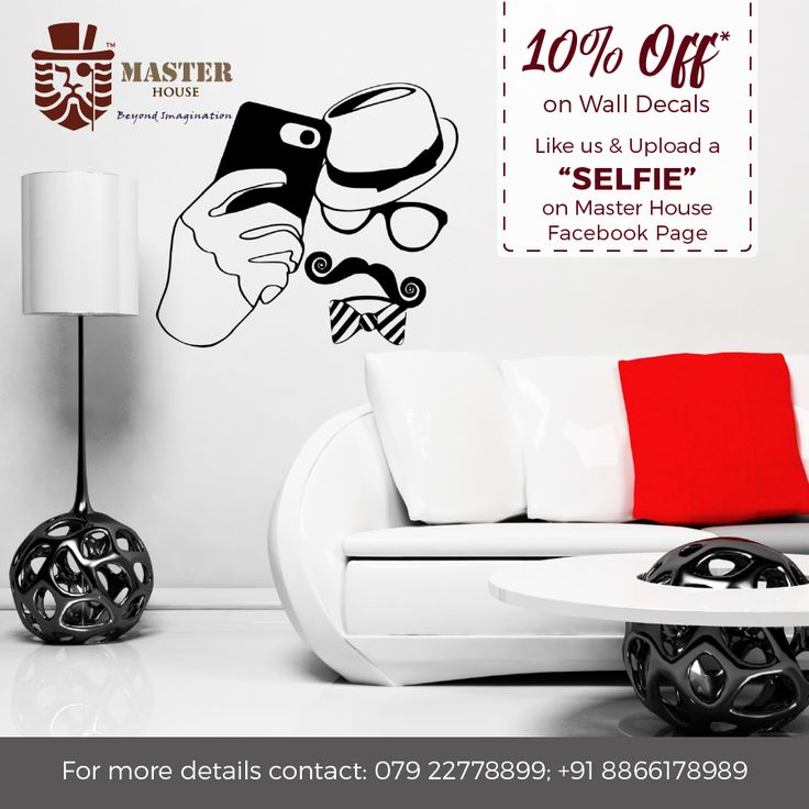 Off On Wall Decals Like US And Upload SELFIE On Master - Wall decals like wallpaper