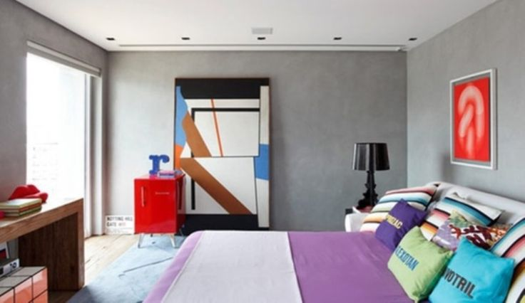 Υπνοδωμάτια σύγχρονης αισθητικής Επηρεασμένα από τη ρετρό και τη βιομηχανική διακόσμηση.