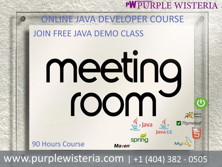 Build Java Applications for Different Business Verticals- Register for our upcoming Java webinar https://www.purplewisteria.com/register-demo | +1(404) 382-0505 #Javatraining #java #onlinetraining