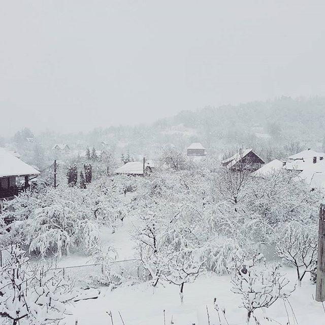 Iarna năstrușnică tare a-mbrăcat și Branul cu ninsoare... #WinterinApril #branromania #romania ##brasov #conaculbratescu #brancastle #mansion #lovebrasov #travelromania #bran