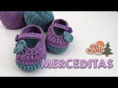 MERCEDITAS PRIMAVERA PARA BEBÉ (BABY SHOES) - YouTube