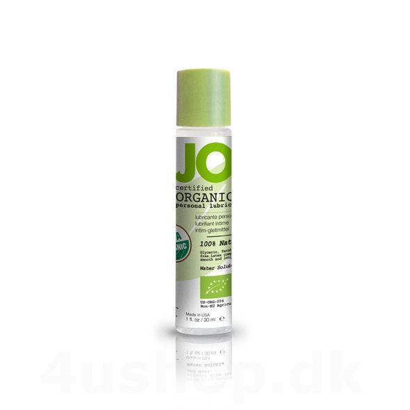 JO Organic glidecreme - 30 ml - USDA Certified Organic #økologi #økologisk #økologiskglidecreme #JO #BIOglide #Shunga #glidecreme #USDAcertifed #CertificationBiologique #NaturalProductStandard @4ushop