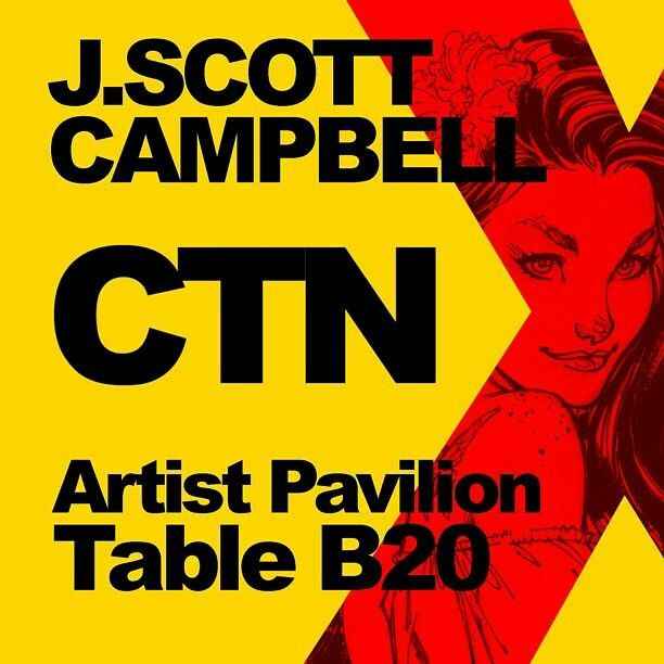 🔊APPEARANCE!: I'll be once again in attendance at this weekend's @creativetalentnetwork @ctnanimexpo November 18-20, 2016 at the Los Angeles Marriott Burbank Airport Hotel. I will have sketchbooks on hand and look forward to seeing many of you there! #ctnx #ctnanimationexpo #animation #burbank #jscottcampbell #animationart #comicbooks #art #comicbookart