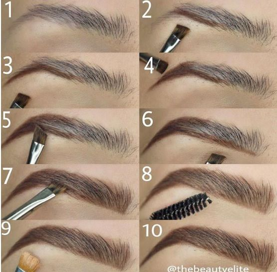 How to do brows