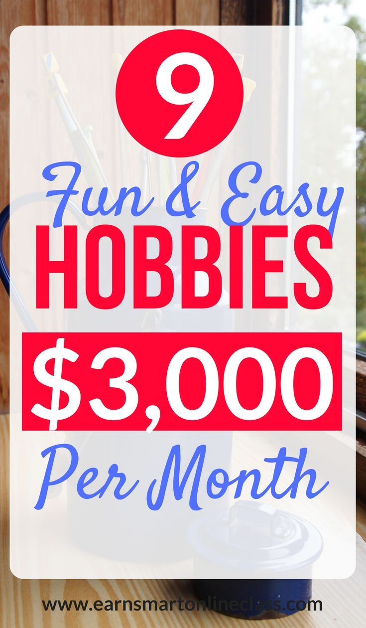 15 Hobbies That Make Money In 2019 – How To Make Money Online