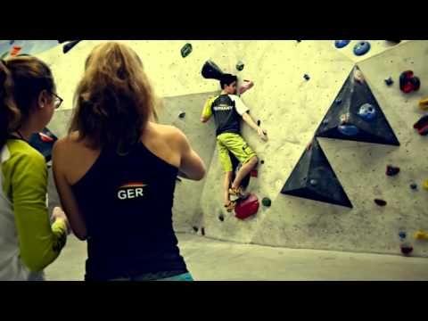 German Bouldering & Climbing Youth Team Training, E4 Nürnberg, 2016