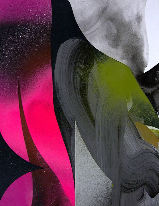 "ryancolemanstudio: acrylic and collage on paper, 8.5""x11"", 2013 Ryan Coleman"