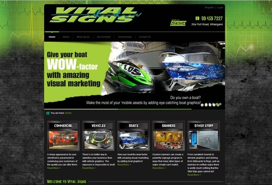 Another GFM Web Design site goes live.  Vitalsigns is a responsive website providing image galleries for viewers to review.