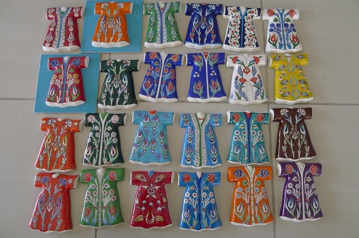 ceramic kaftans...