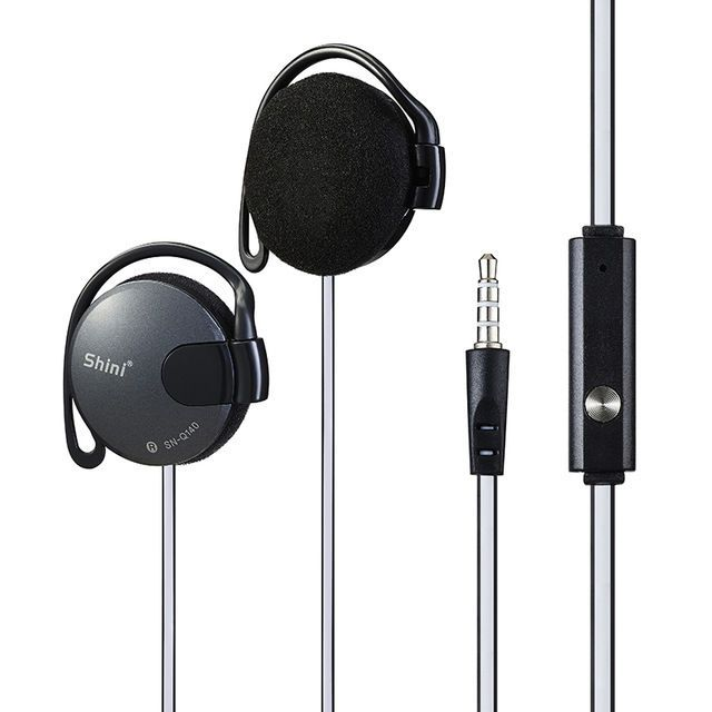 Shini Q140 Subwoofer Headphone Ear Hook Headset 3.5mm