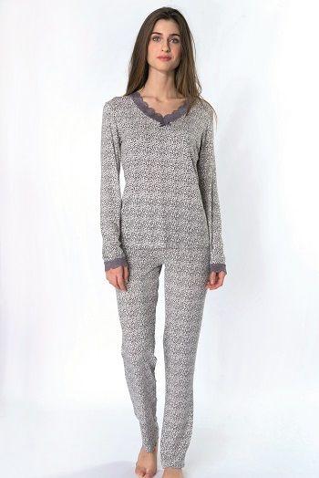 Pijama invierno mujer Egatex modelo Little. http://www.perfumeriaelajuar.com/homewear/pijama-mujer-invierno-/30/