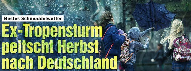 Wetter: Bestes Schmuddelwetter: Ex-Tropensturm Henri peitscht den Herbst Deutschland http://www.bild.de/news/inland/herbst/ex-tropensturm-henri-peitscht-den-herbst-nach-deutschland-42595174.bild.html