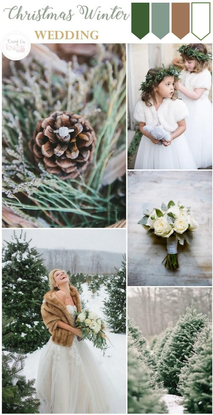 outdoor christmas wedding inspiration