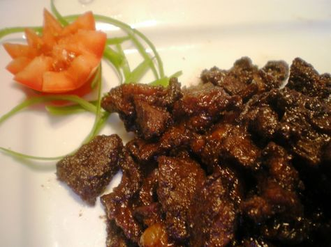 My favorite. Especially Paras Beach Resort  in Camiguin's Beef tapa recipe! There cook must be so good.Can't resist it everytime i'm there. My man loves it too...