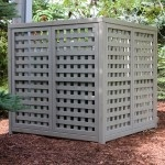 To hide AC unit, or use similar supplies to create a lid for our deep basement window wells