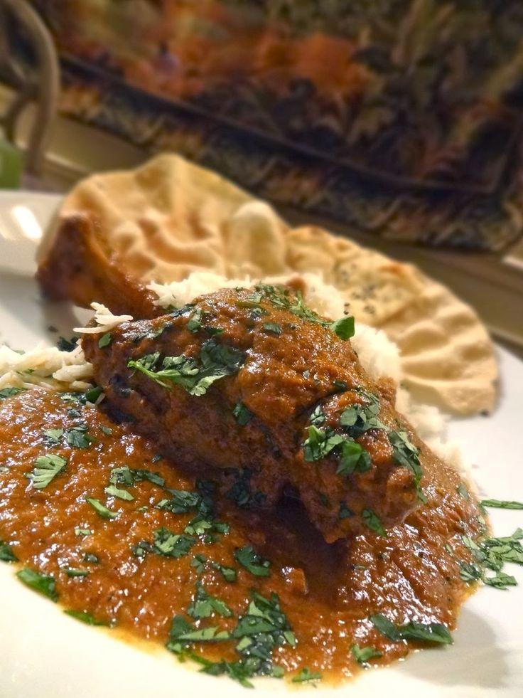 Scrumpdillyicious: Hyderabadi Lamb Shanks: Chef Alfred Prasad