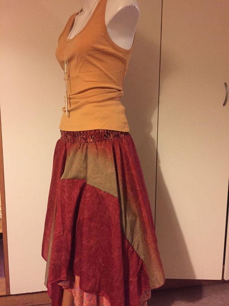 TREE OF LIFE DRESS SKIRT Silk One Size Elastic Waist VERSATILE Holiday