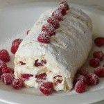 Raspberry and Passion Fruit Meringue Pavlova .A lighter low fat dessert for any occasion and gluten free!