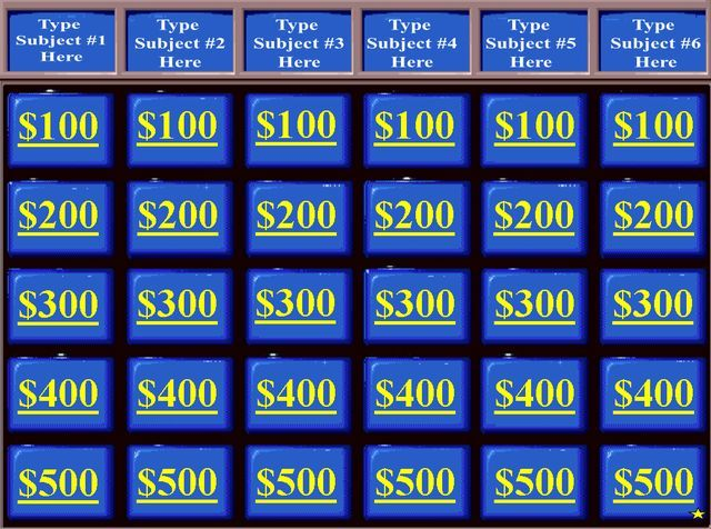 best bible jeopardy images on, Powerpoint