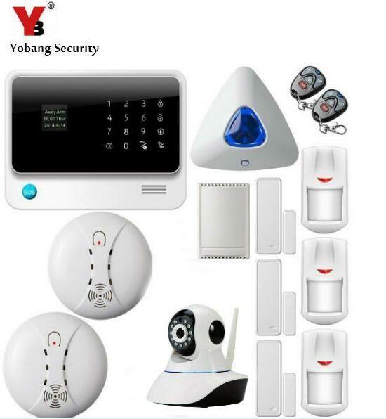 freeship wifi Home Safety alarm GPRS alarm alarme maison sans fil WiFi alarm alarmas casas support RFID