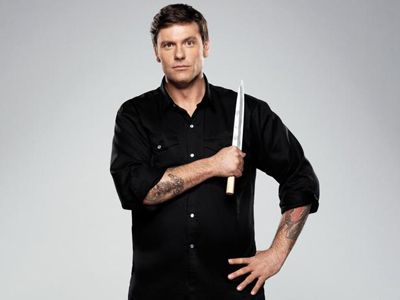 Chuck Hughes, host of Cooking Channel's Chuck's Day Off, reveals his favorite hometown dishes in Montreal.    Bifana Pork Sandwich from Rotisserie Portuga