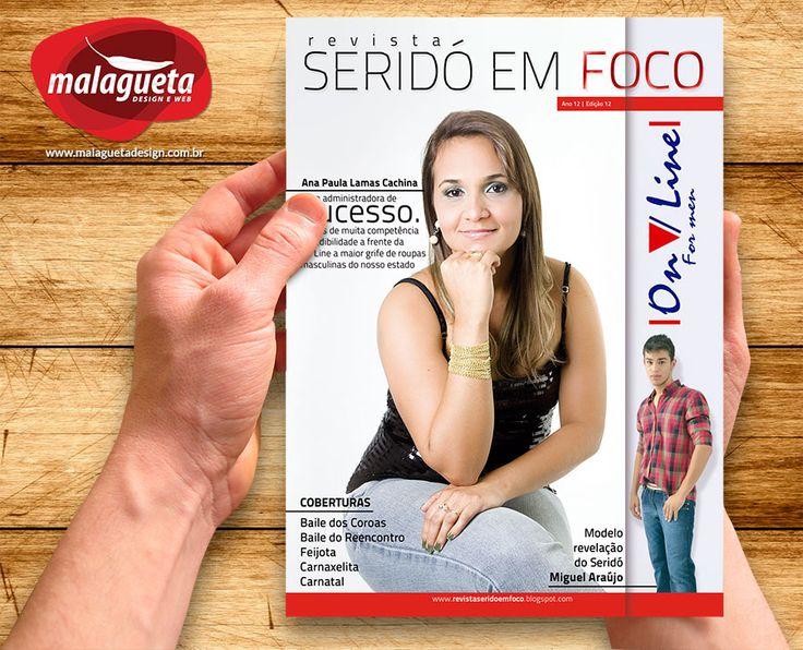 Capa Revista Seridó em Foco