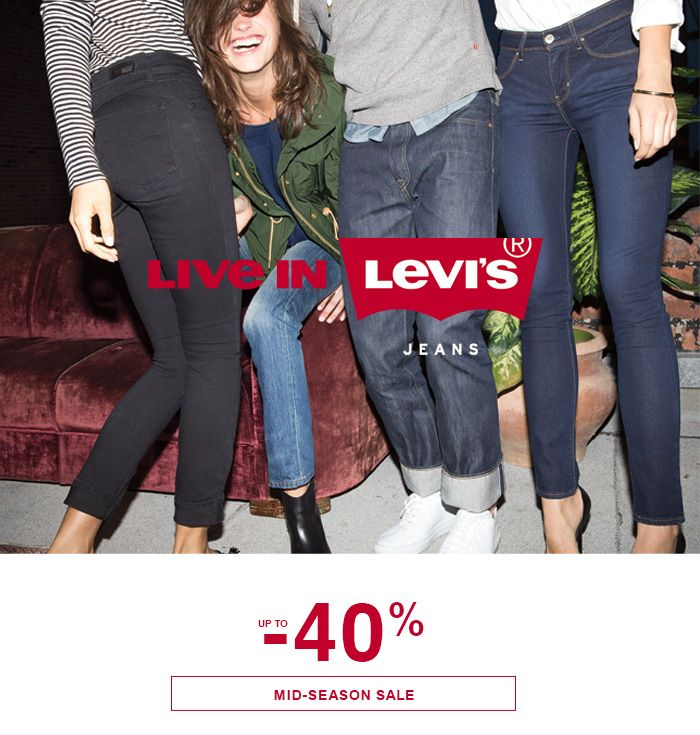Mid season sale up to -40% #levis #sale #sale40 #midseason