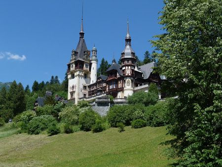 Castle Peles in Romania is consistently selected by visitors as one of the most beautiful in the world