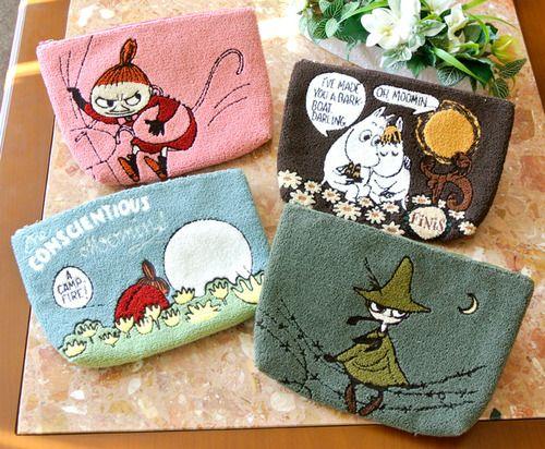 【かわいい】ムーミンが日本の伝統工芸品とコラボ! 相良刺繍のポーチや熊野筆の化粧ブラシがかわいすぎる!