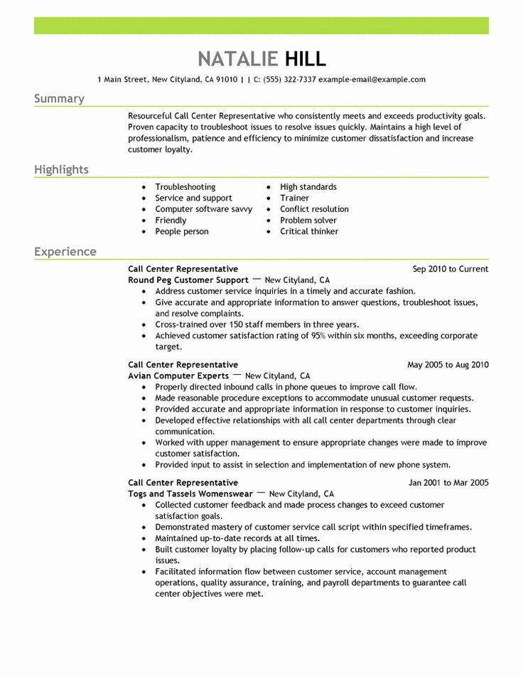 23 Call Center Jobs Description Resume (2020) Customer