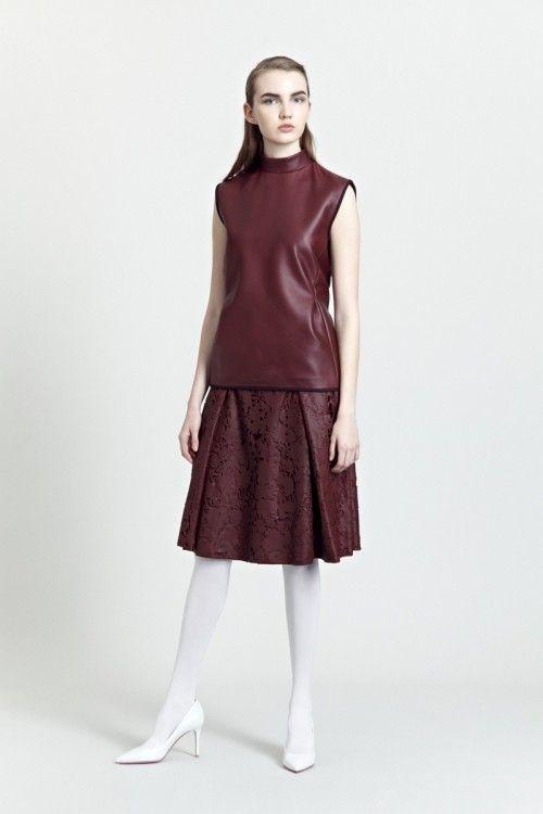 Siloa & Mook AW13: Biret Top, Kearte Skirt. #siloamook #fashionflashfinland #fashion #fashiondesigner #designer #aw13 #collection #Finland #Helsinki